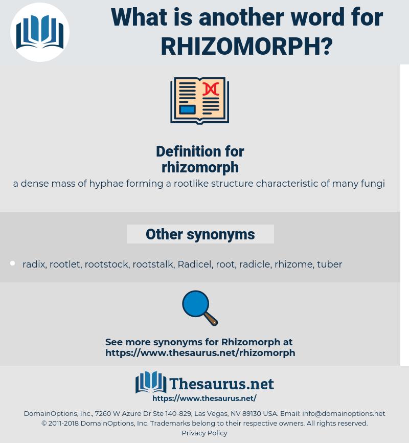 rhizomorph, synonym rhizomorph, another word for rhizomorph, words like rhizomorph, thesaurus rhizomorph