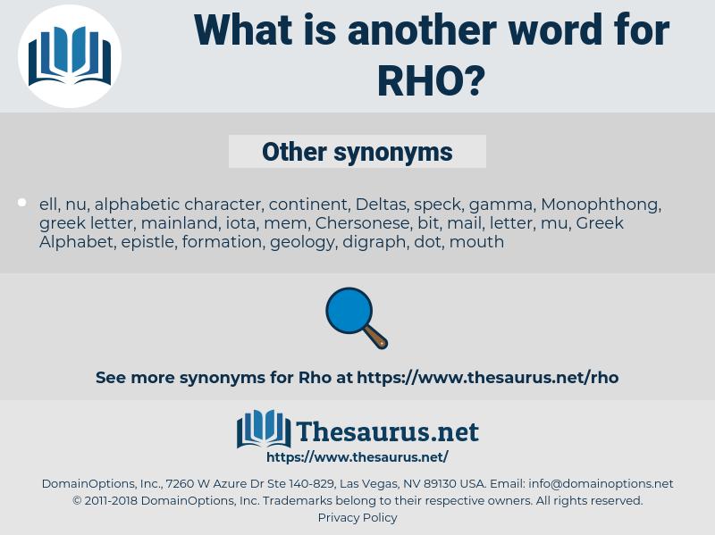 rho, synonym rho, another word for rho, words like rho, thesaurus rho