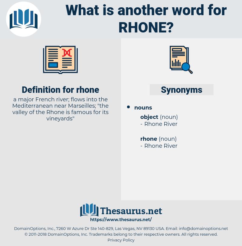 rhone, synonym rhone, another word for rhone, words like rhone, thesaurus rhone