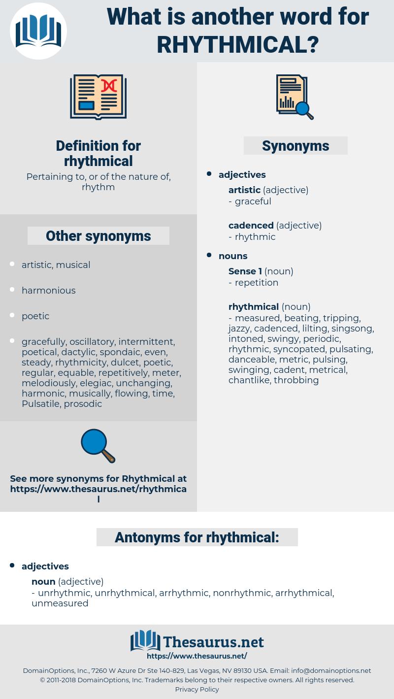 rhythmical, synonym rhythmical, another word for rhythmical, words like rhythmical, thesaurus rhythmical