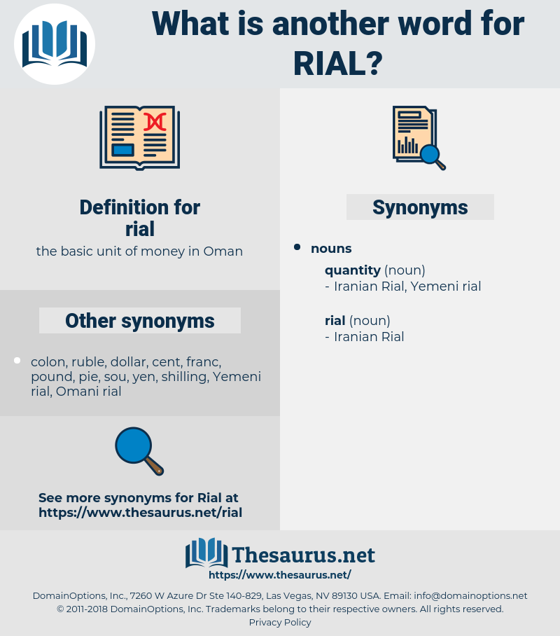 rial, synonym rial, another word for rial, words like rial, thesaurus rial