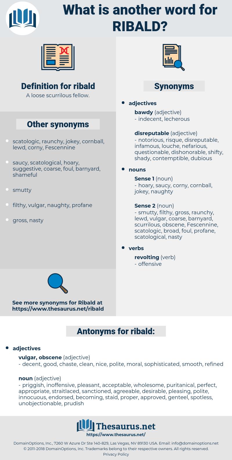 ribald, synonym ribald, another word for ribald, words like ribald, thesaurus ribald