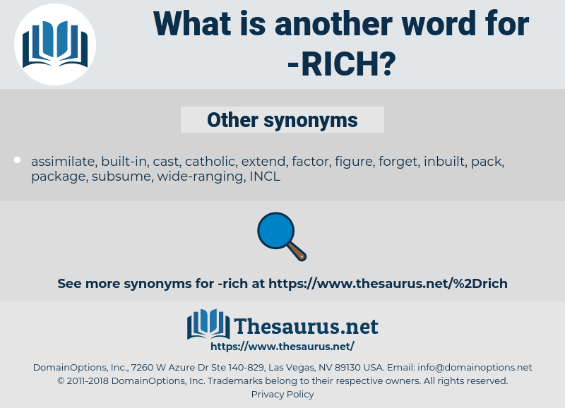 rich, synonym rich, another word for rich, words like rich, thesaurus rich