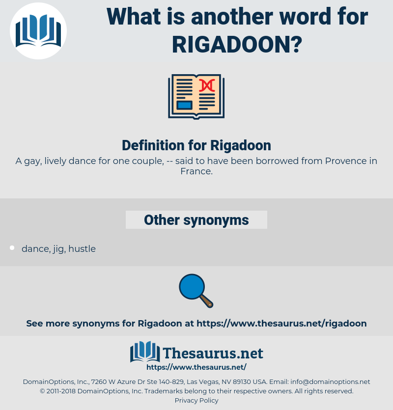 Rigadoon, synonym Rigadoon, another word for Rigadoon, words like Rigadoon, thesaurus Rigadoon