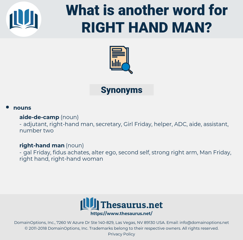 right-hand man, synonym right-hand man, another word for right-hand man, words like right-hand man, thesaurus right-hand man
