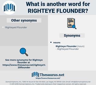 Righteye Flounder, synonym Righteye Flounder, another word for Righteye Flounder, words like Righteye Flounder, thesaurus Righteye Flounder