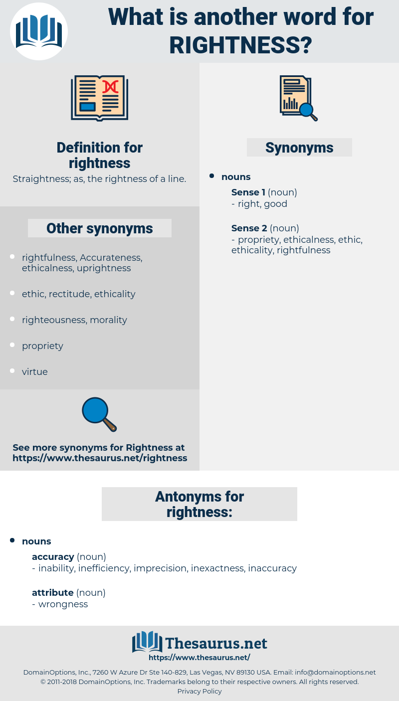 rightness, synonym rightness, another word for rightness, words like rightness, thesaurus rightness