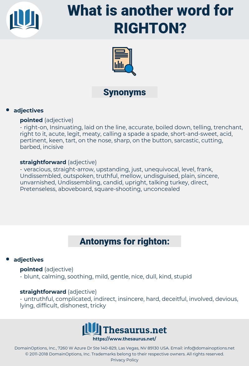 righton, synonym righton, another word for righton, words like righton, thesaurus righton