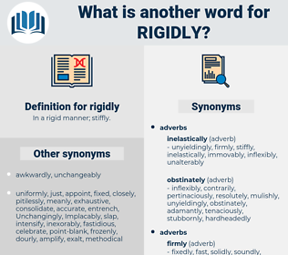 rigidly, synonym rigidly, another word for rigidly, words like rigidly, thesaurus rigidly