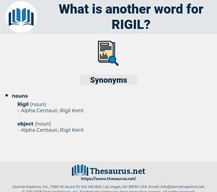 rigil, synonym rigil, another word for rigil, words like rigil, thesaurus rigil