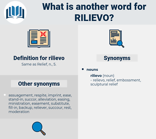 rilievo, synonym rilievo, another word for rilievo, words like rilievo, thesaurus rilievo