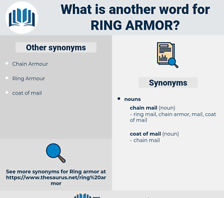 ring armor, synonym ring armor, another word for ring armor, words like ring armor, thesaurus ring armor