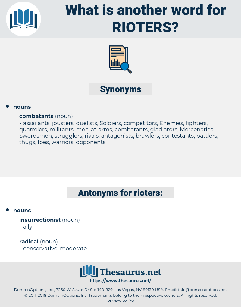 rioters, synonym rioters, another word for rioters, words like rioters, thesaurus rioters