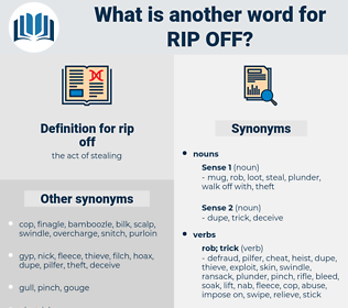 rip off, synonym rip off, another word for rip off, words like rip off, thesaurus rip off