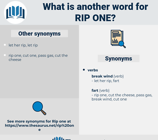 rip one, synonym rip one, another word for rip one, words like rip one, thesaurus rip one