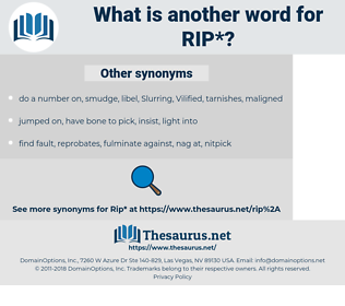 rip, synonym rip, another word for rip, words like rip, thesaurus rip