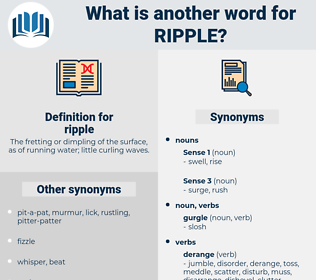 ripple, synonym ripple, another word for ripple, words like ripple, thesaurus ripple