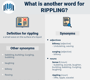 rippling, synonym rippling, another word for rippling, words like rippling, thesaurus rippling