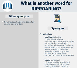 riproaring, synonym riproaring, another word for riproaring, words like riproaring, thesaurus riproaring