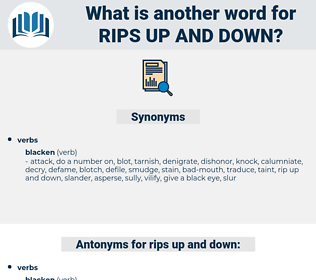 rips up and down, synonym rips up and down, another word for rips up and down, words like rips up and down, thesaurus rips up and down