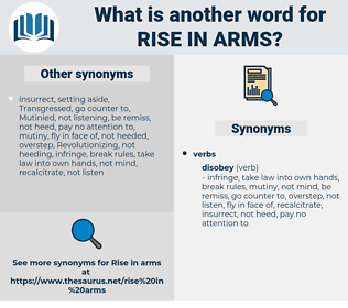 rise in arms, synonym rise in arms, another word for rise in arms, words like rise in arms, thesaurus rise in arms