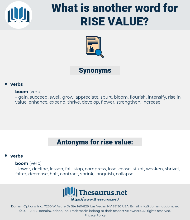 rise value, synonym rise value, another word for rise value, words like rise value, thesaurus rise value