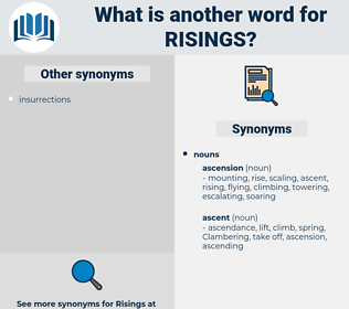 risings, synonym risings, another word for risings, words like risings, thesaurus risings