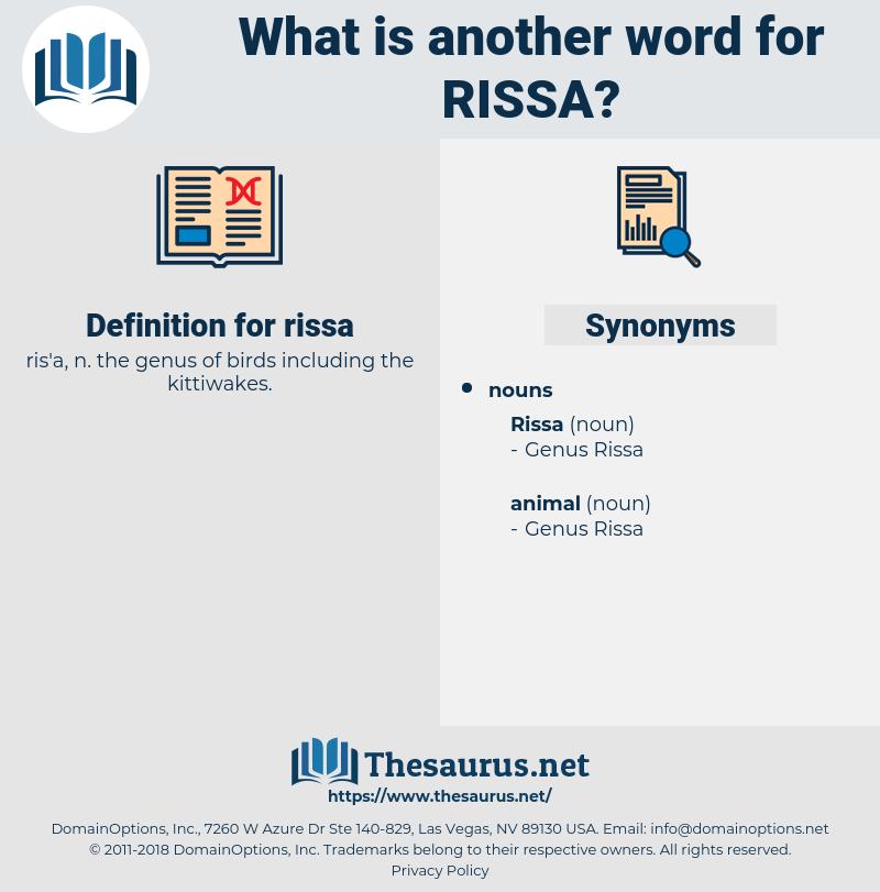rissa, synonym rissa, another word for rissa, words like rissa, thesaurus rissa