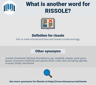 rissole, synonym rissole, another word for rissole, words like rissole, thesaurus rissole