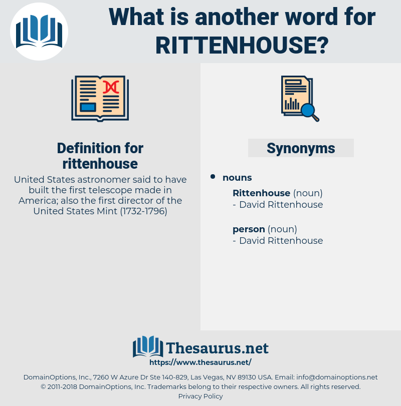 rittenhouse, synonym rittenhouse, another word for rittenhouse, words like rittenhouse, thesaurus rittenhouse