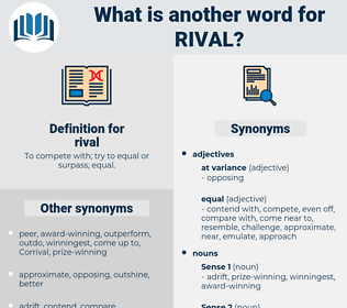 rival, synonym rival, another word for rival, words like rival, thesaurus rival