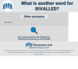 Rivalled, synonym Rivalled, another word for Rivalled, words like Rivalled, thesaurus Rivalled