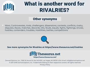 Rivalries, synonym Rivalries, another word for Rivalries, words like Rivalries, thesaurus Rivalries