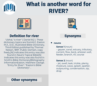 river, synonym river, another word for river, words like river, thesaurus river