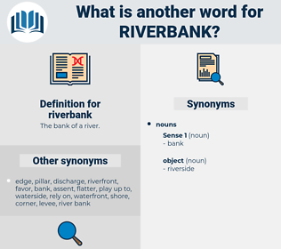riverbank, synonym riverbank, another word for riverbank, words like riverbank, thesaurus riverbank