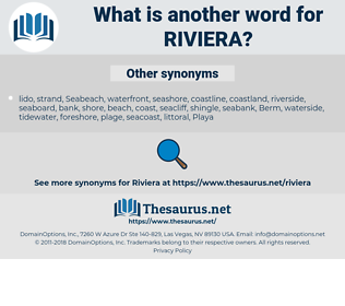 riviera, synonym riviera, another word for riviera, words like riviera, thesaurus riviera