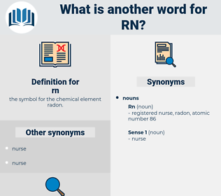 rn, synonym rn, another word for rn, words like rn, thesaurus rn