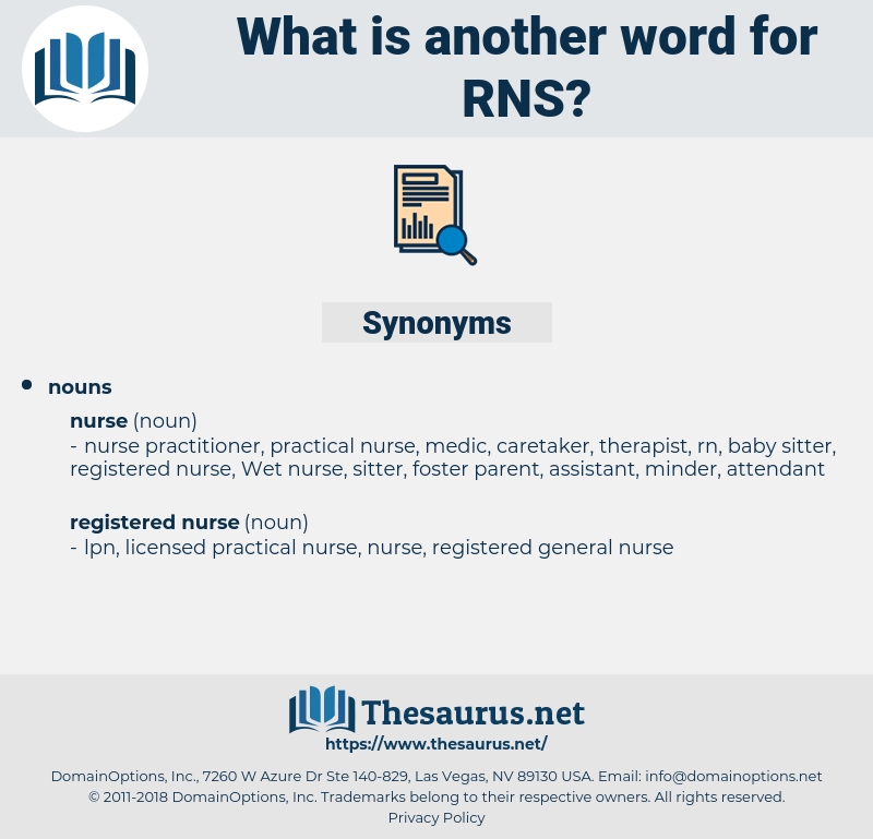 RNS, synonym RNS, another word for RNS, words like RNS, thesaurus RNS