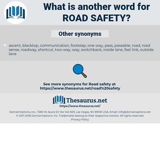 road safety, synonym road safety, another word for road safety, words like road safety, thesaurus road safety