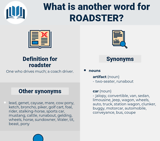 roadster, synonym roadster, another word for roadster, words like roadster, thesaurus roadster