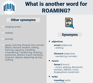 Roaming, synonym Roaming, another word for Roaming, words like Roaming, thesaurus Roaming