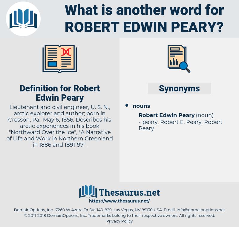 Robert Edwin Peary, synonym Robert Edwin Peary, another word for Robert Edwin Peary, words like Robert Edwin Peary, thesaurus Robert Edwin Peary