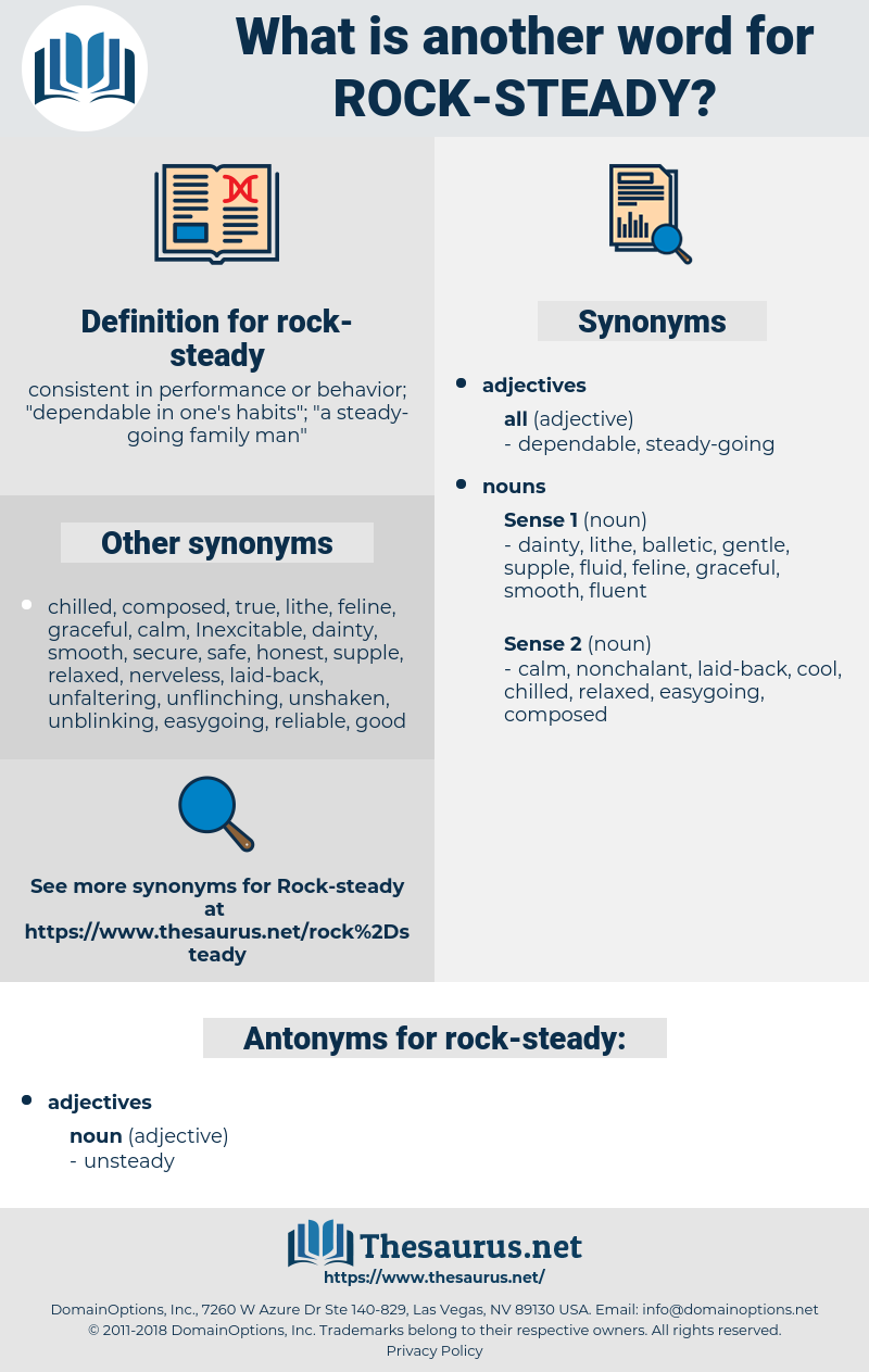 rock-steady, synonym rock-steady, another word for rock-steady, words like rock-steady, thesaurus rock-steady
