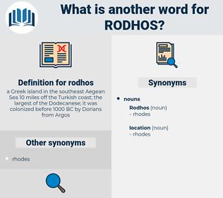 rodhos, synonym rodhos, another word for rodhos, words like rodhos, thesaurus rodhos