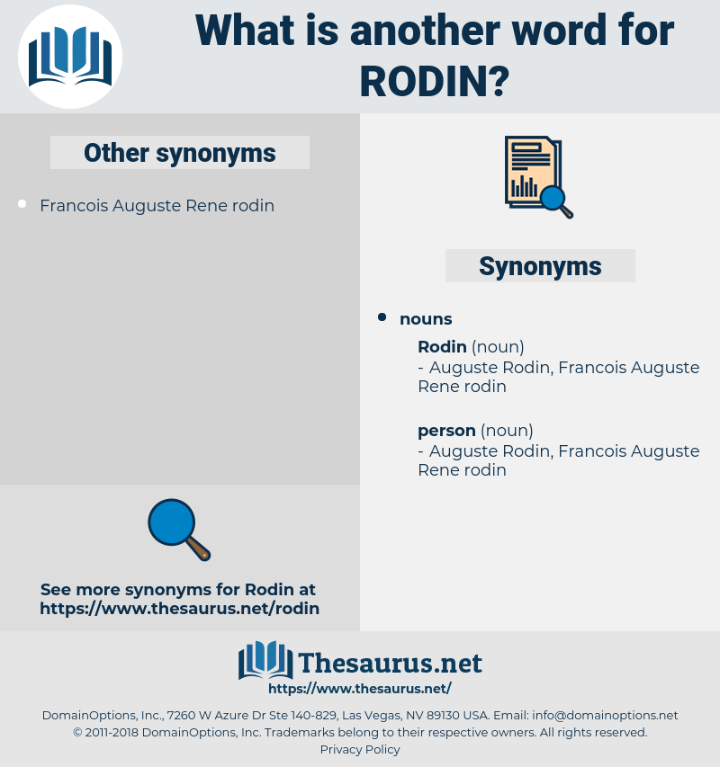 rodin, synonym rodin, another word for rodin, words like rodin, thesaurus rodin