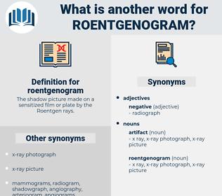 roentgenogram, synonym roentgenogram, another word for roentgenogram, words like roentgenogram, thesaurus roentgenogram