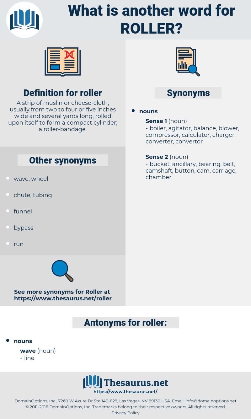 roller, synonym roller, another word for roller, words like roller, thesaurus roller