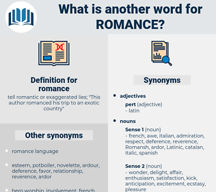 romance, synonym romance, another word for romance, words like romance, thesaurus romance