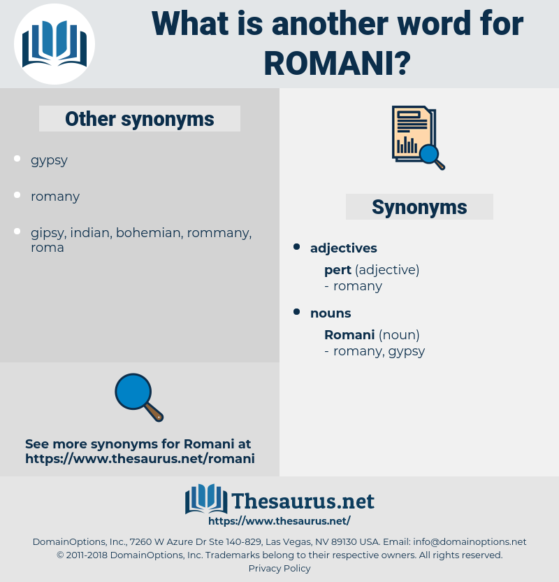 romani, synonym romani, another word for romani, words like romani, thesaurus romani