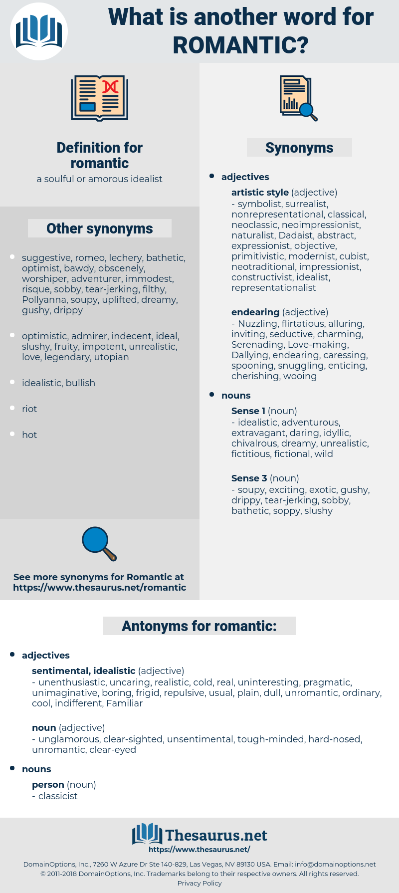 romantic, synonym romantic, another word for romantic, words like romantic, thesaurus romantic
